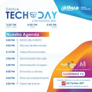 Dahua Tech Day mostrará portafolio de productos con IA en Latam