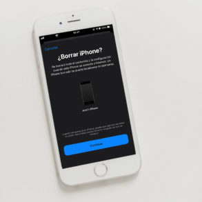 Cómo borrar todo de un iPhone en caso de robo